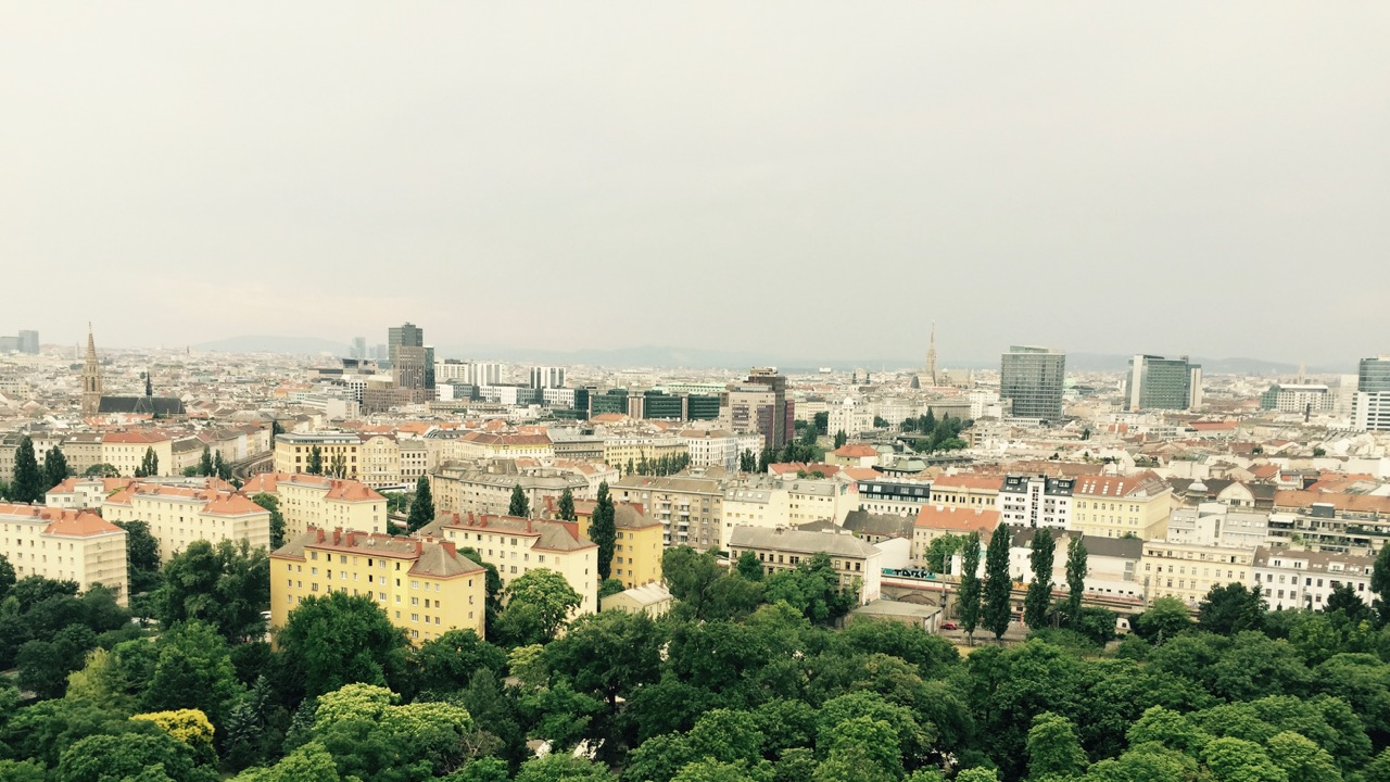 View from the Prater