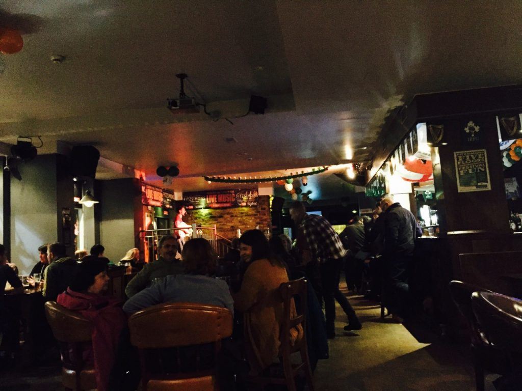 Drinks and live music in Dublin