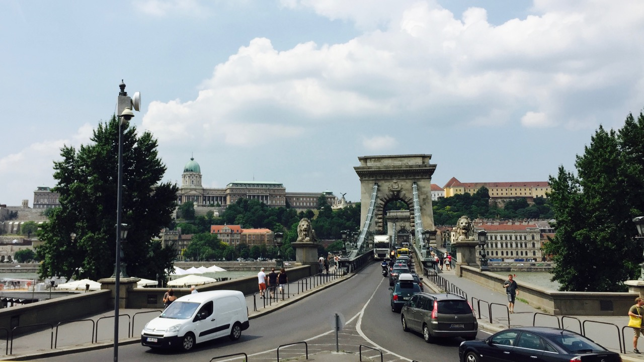 Crossing the Chain Bridge