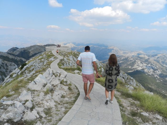 pathway to heaven at Lovcen national park