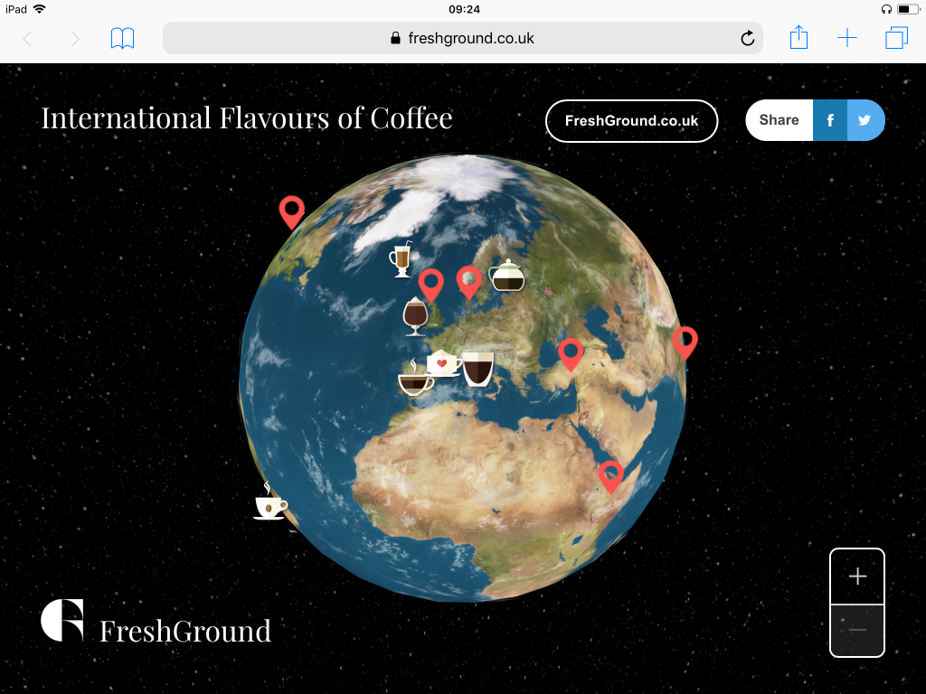 International Flavours of Coffee