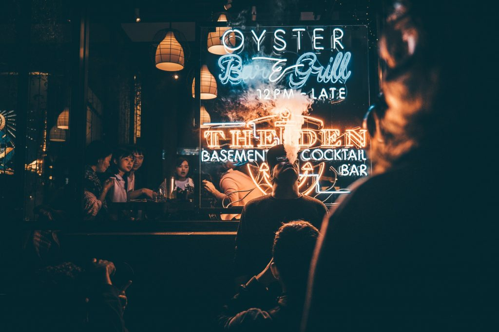 Oyster Bar and Grill - Basement Cocktail Bar